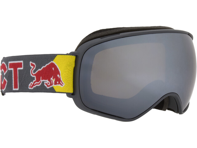 Red Bull SPECT Alley Oop Lunettes de protection, dark grey/silver snow